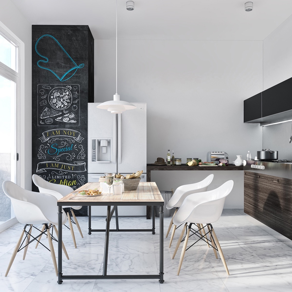 How To Arrange Modern Dining Room Designs Which Completed With Trendy Decorating Ideas In It Roohome