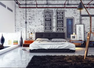 trendy bedroom design