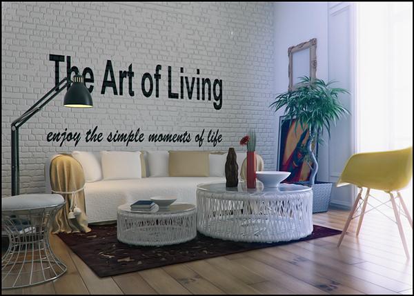 trendy living room design
