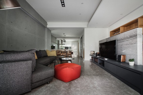 Contemporary apartment interior design