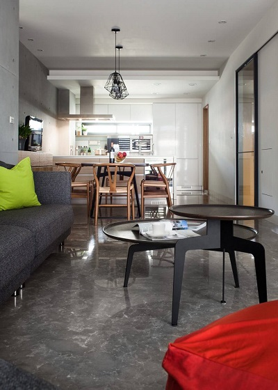 Contemporary apartment interior ideas