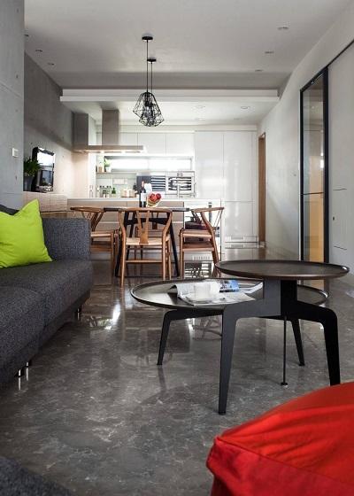 Contemporary apartment interior ideas