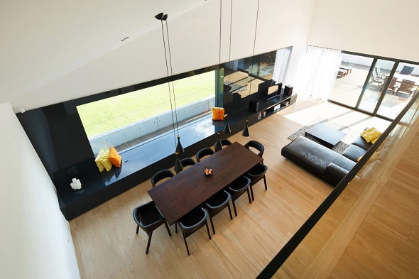 Contemporary dining room interior design ideas