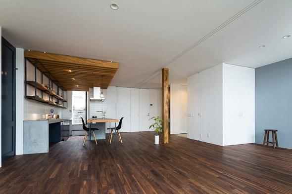 Contemporary home design interior