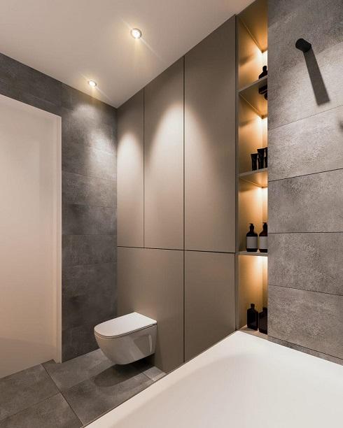 Elegant bathroom interior design
