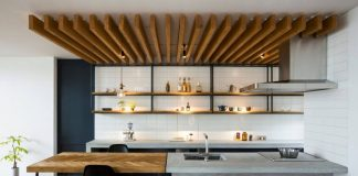 Minimalist single house design interior