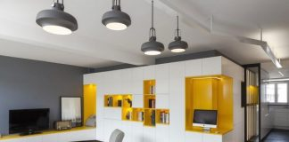 Minimalist small apartment design