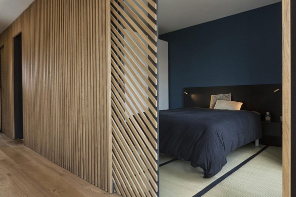 Minimalist small bedroom design