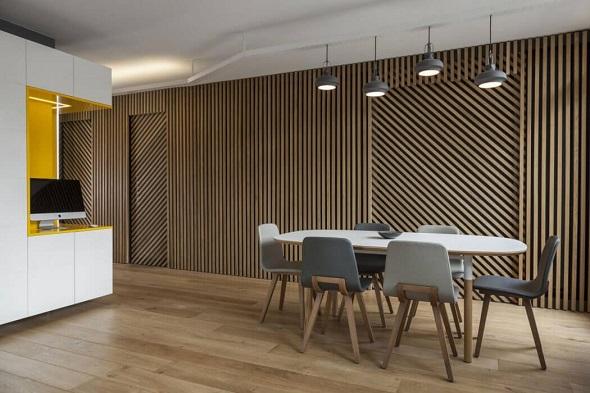 Minimalist small dining room design