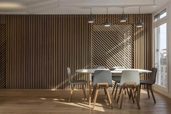Minimalist small dining room design ideas