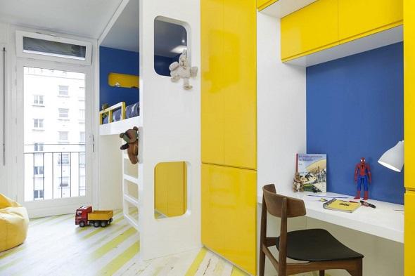 Minimalist small nursery design