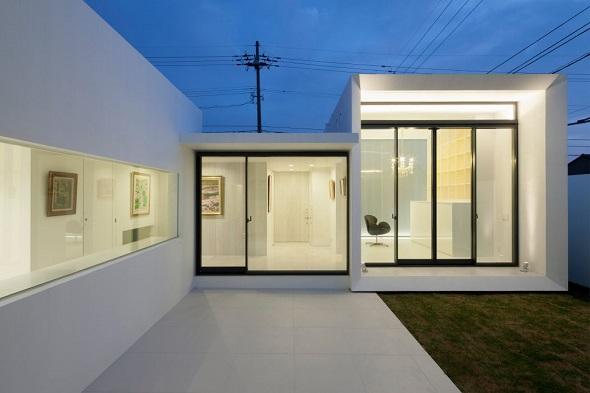 Modern interior single house design