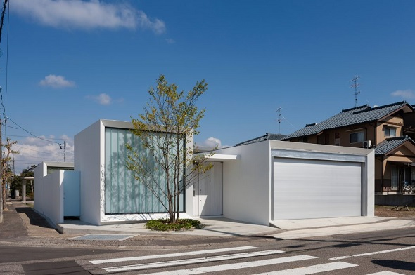 Modern single house design