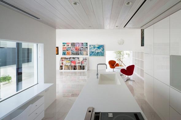 Modern single house interior design
