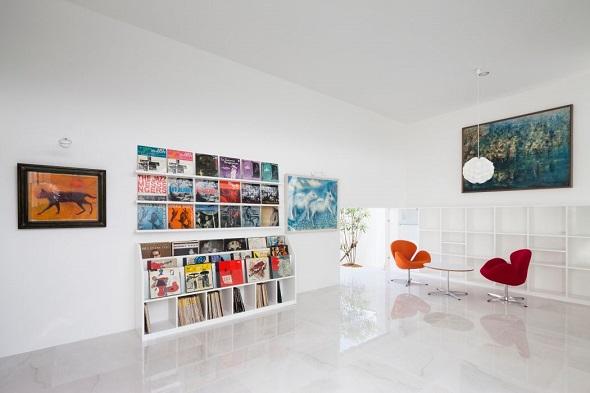 Modern single house