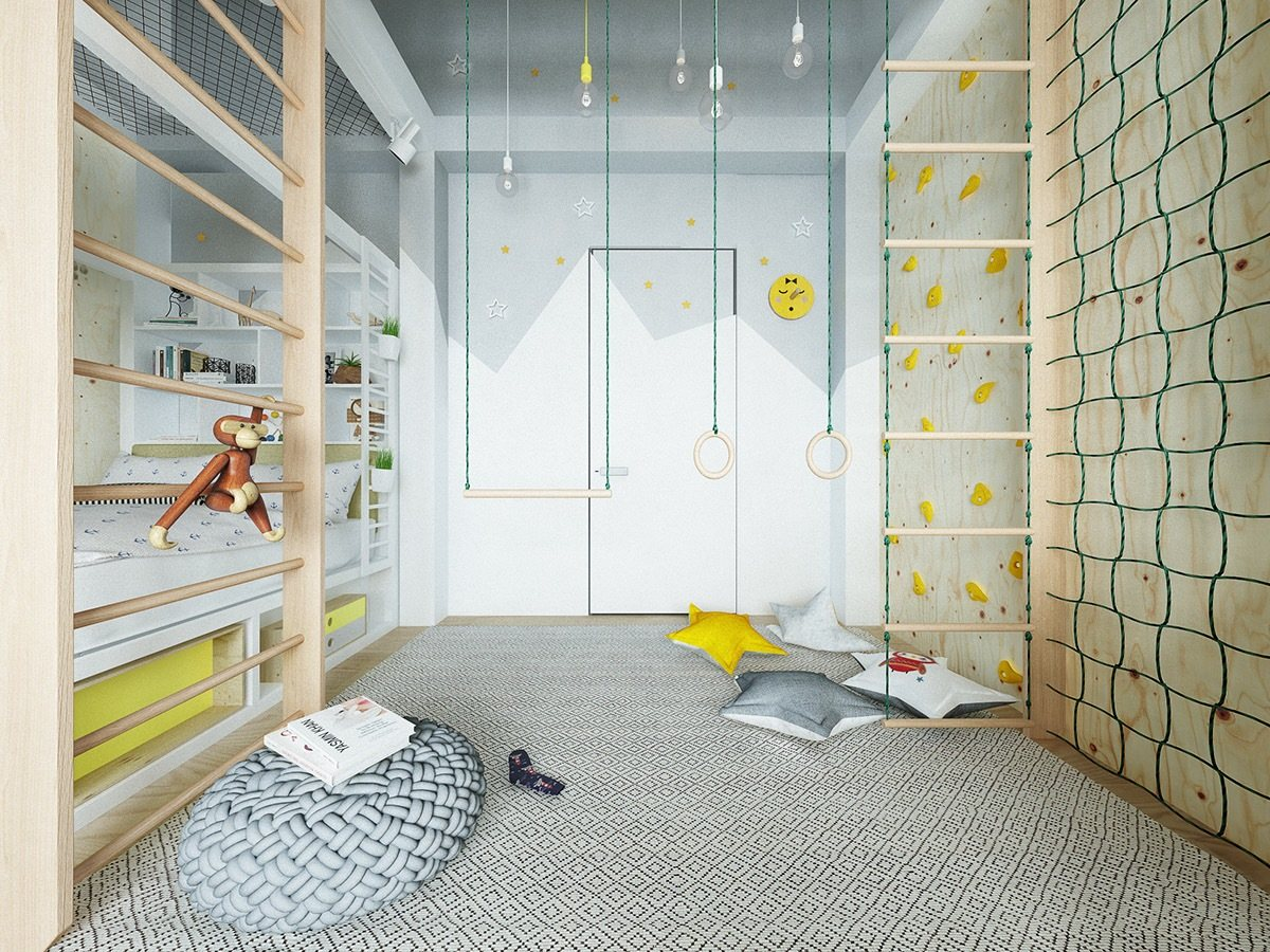 Inspiring modern kids room designs which brimming quirky for Quirky room ideas