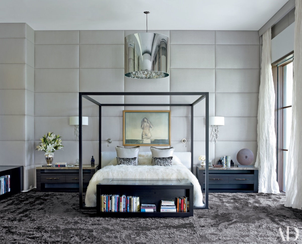 beauty white bedroom design