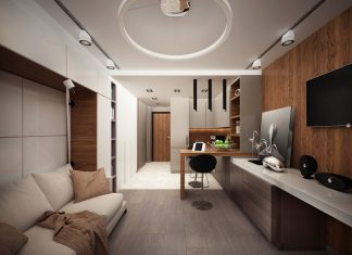 awesome studio apartment design