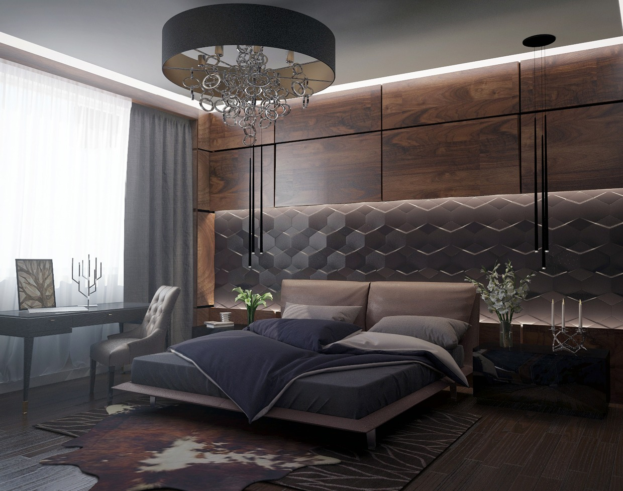 Amazing Gorgeous Bedroom Design