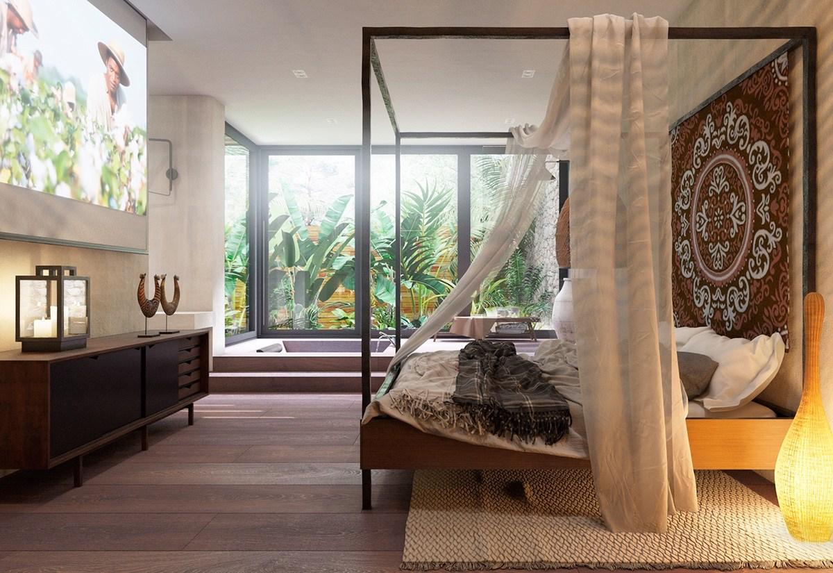 10 top of minimalist bedroom ideas combined with modern for Interior bedroom minimalist