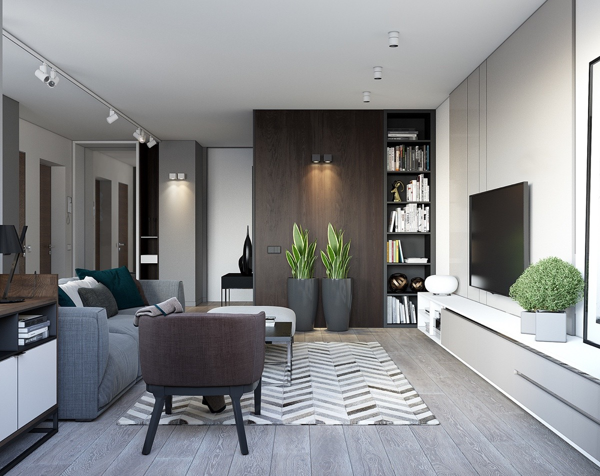 The best arrangement to make your small home interior for Minimalist decor apartment