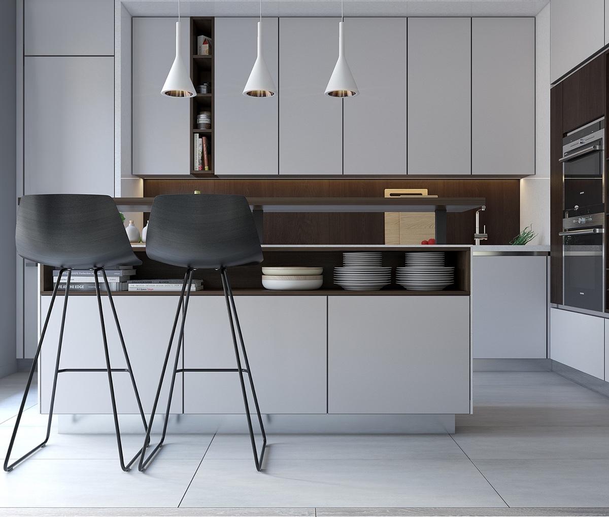 wooden concept for kitchen design