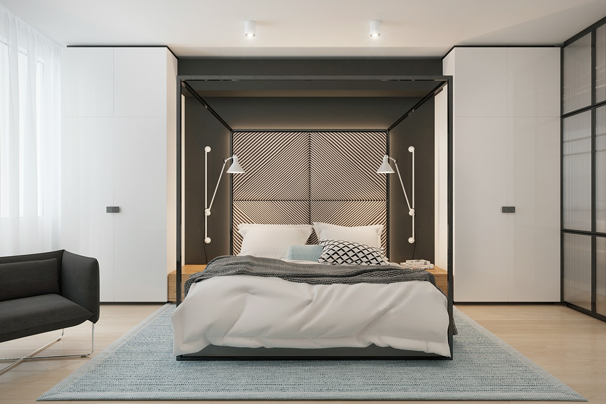 awesome bedroom decor with frame beds