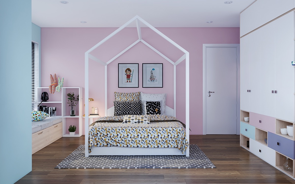 quirky kids room design