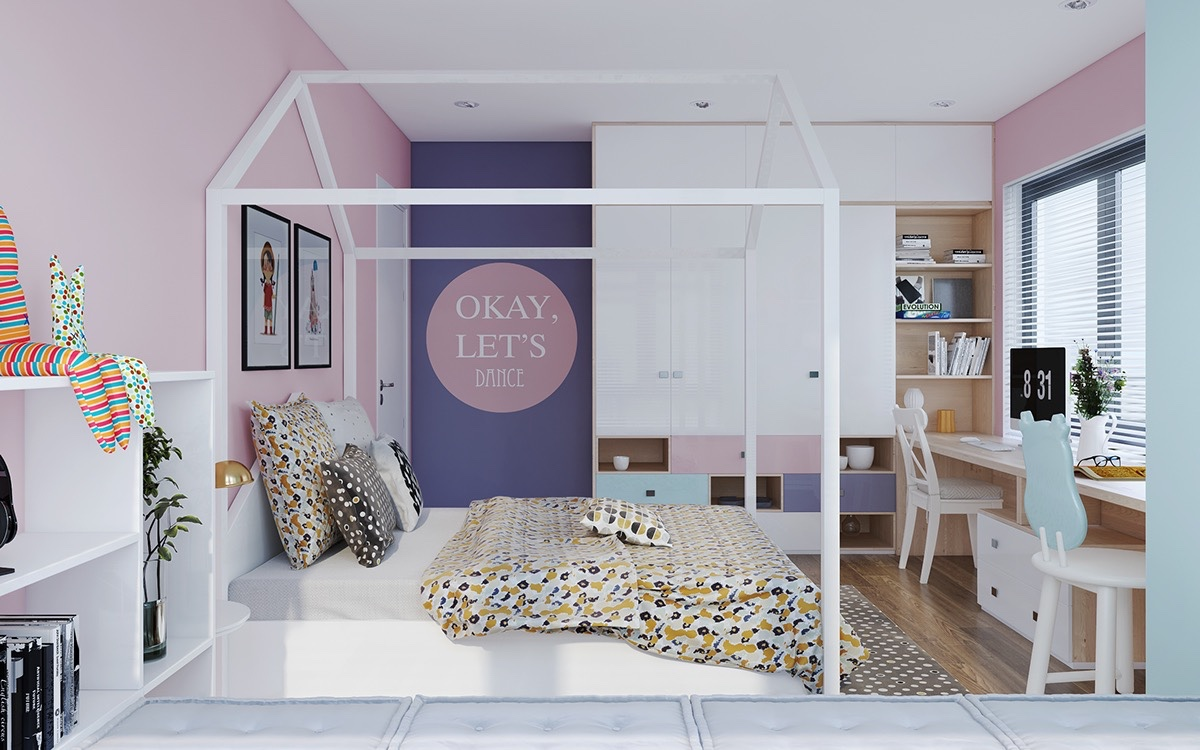 cheerful room design