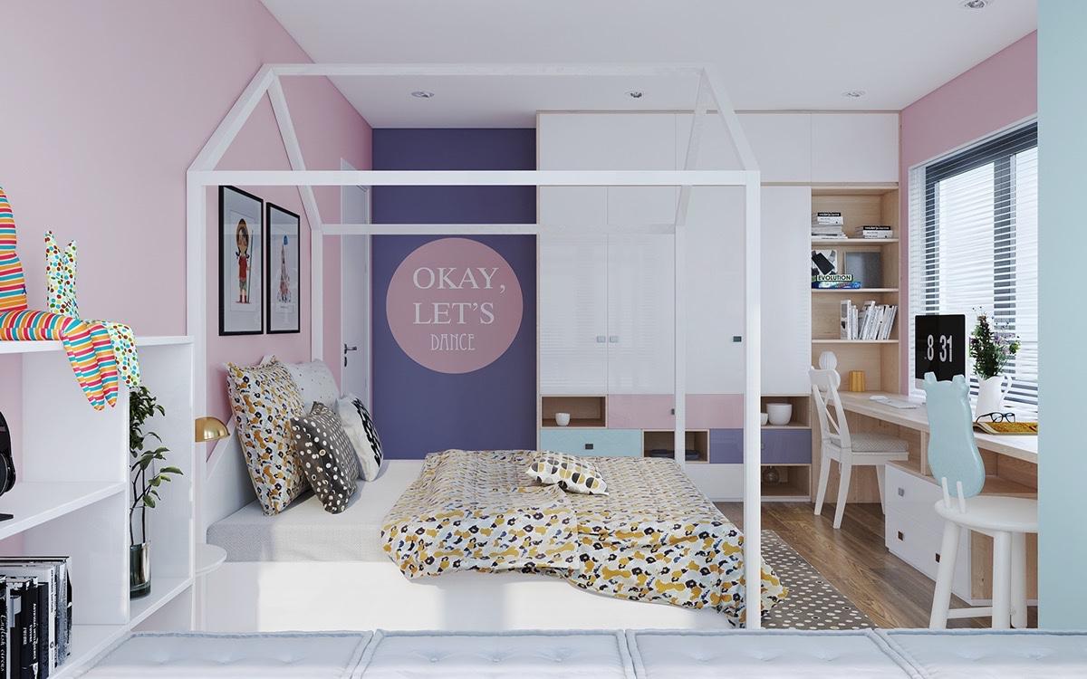 cheerful room design