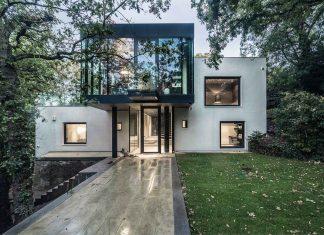 contemporary green house design