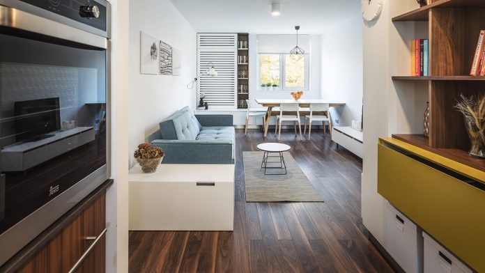 minimalist studio apartment design