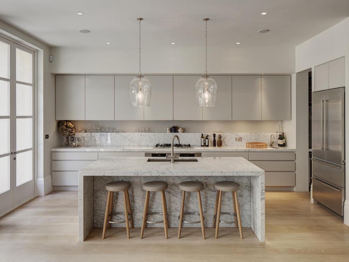 simple minimalist kitchen design