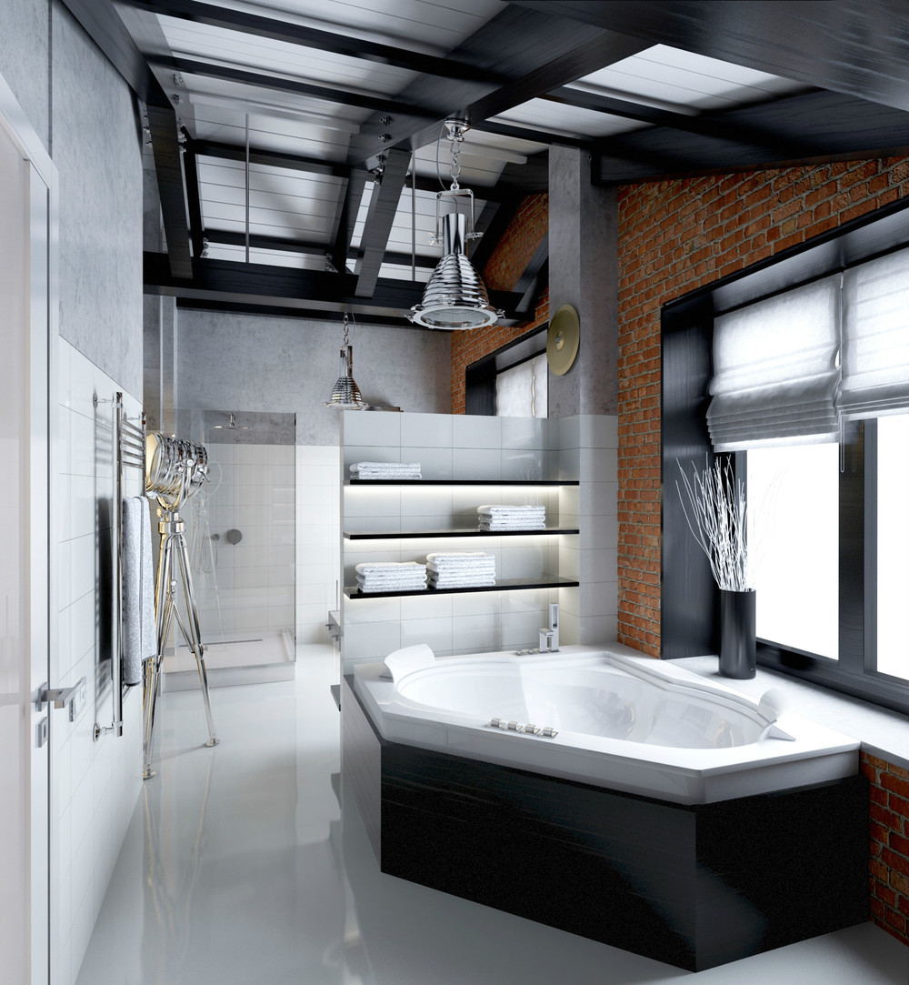 Contemporary bathroom designs ideas with a trendy and chic for Trendy bathrooms