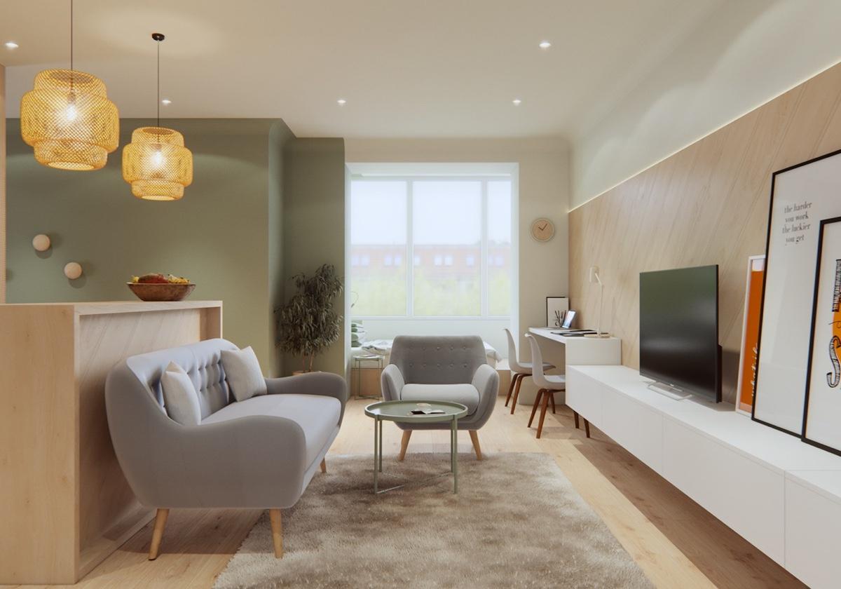 simple small living room decor