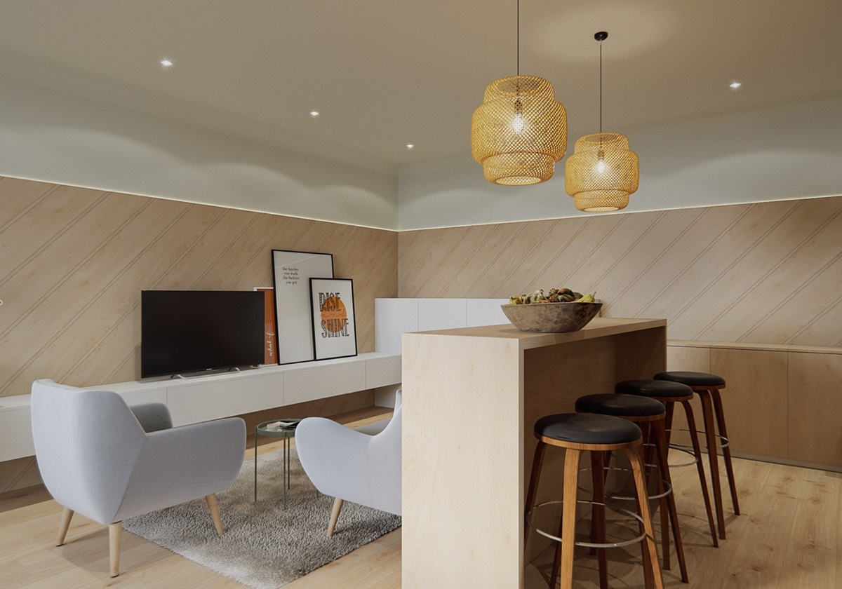 small bar kitchen design