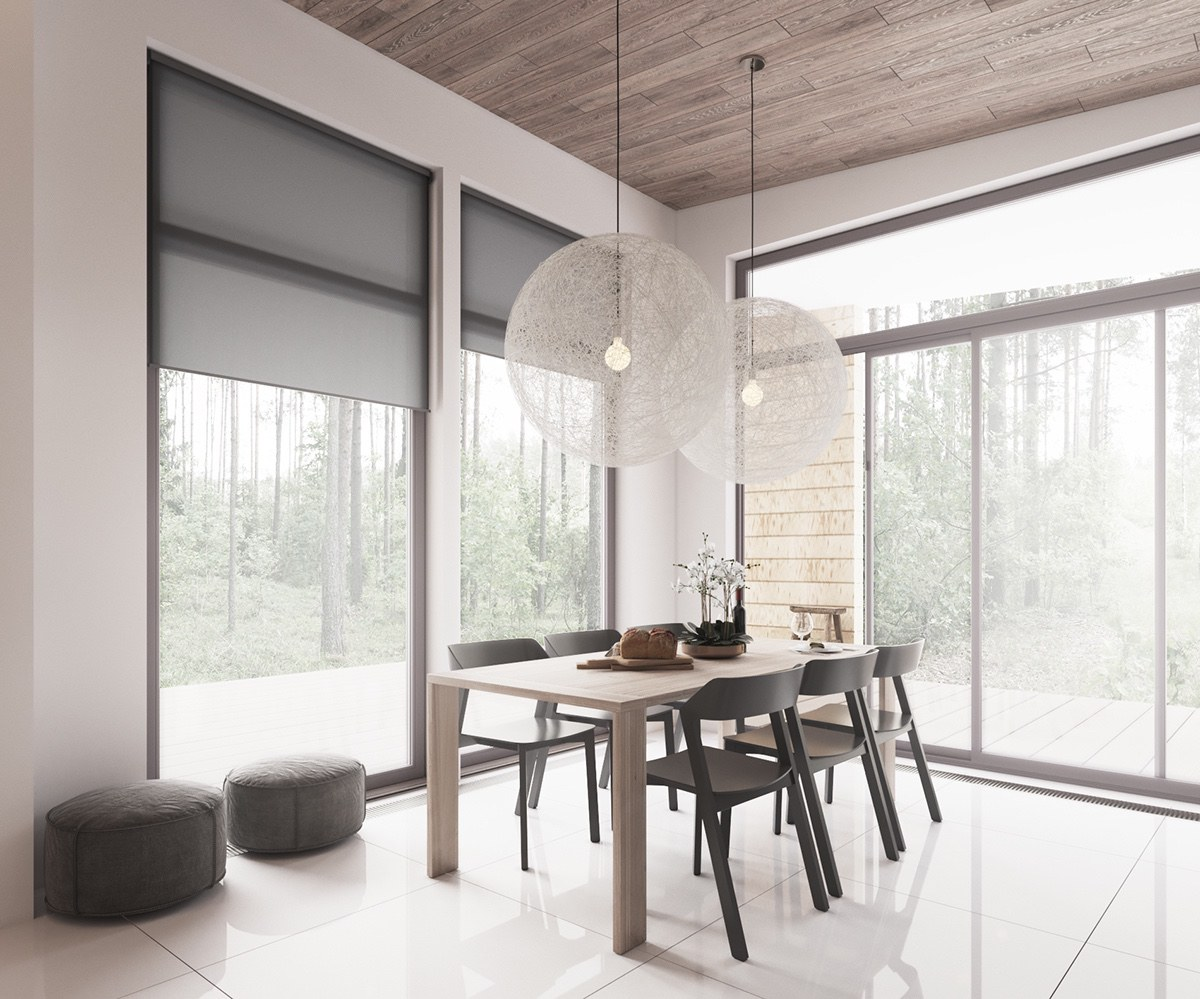 Minimalist home design with muted color and scandinavian for Scandinavian interior design