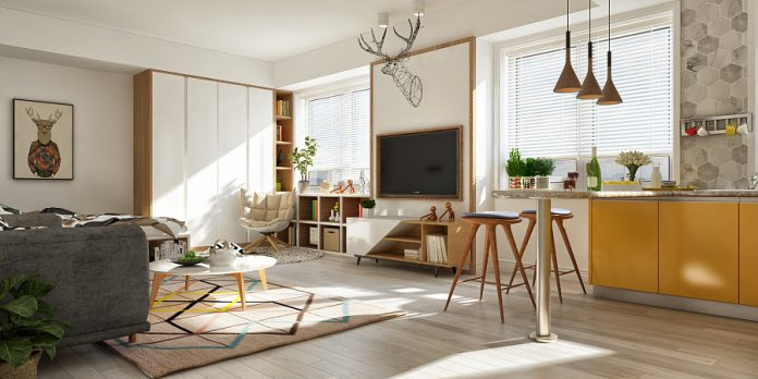 Scandinavian home interior design