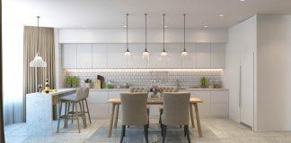 white minimalist apartment