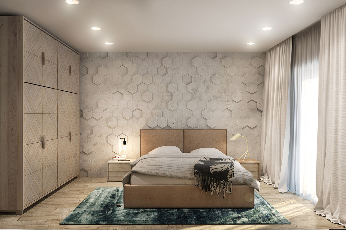 minimalist master bedroom design