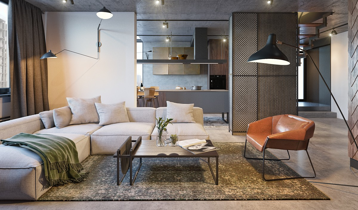 Chic Living Room Design Ideas Use an Art Decor To Amplify The ...