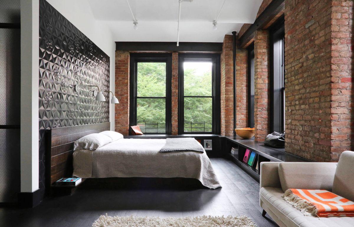 minimalist gray bedroom decor