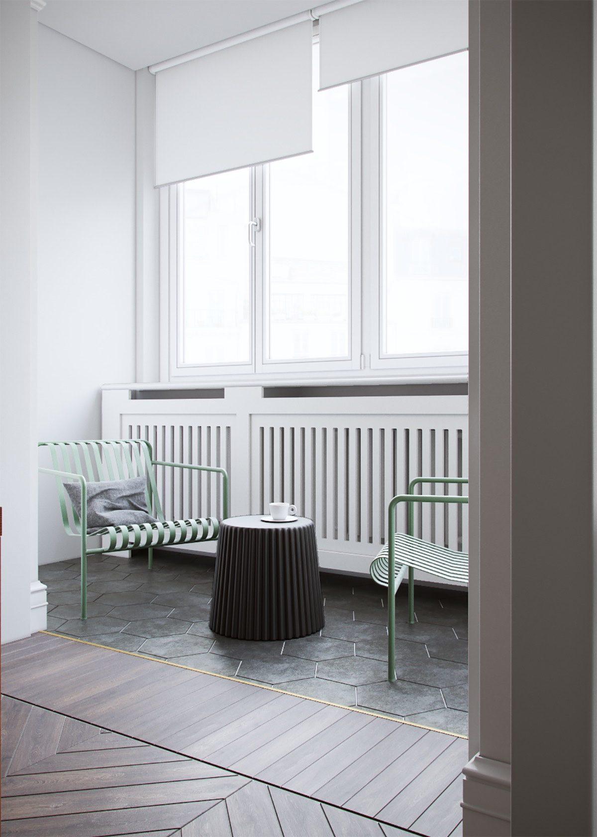 modern balcon home design
