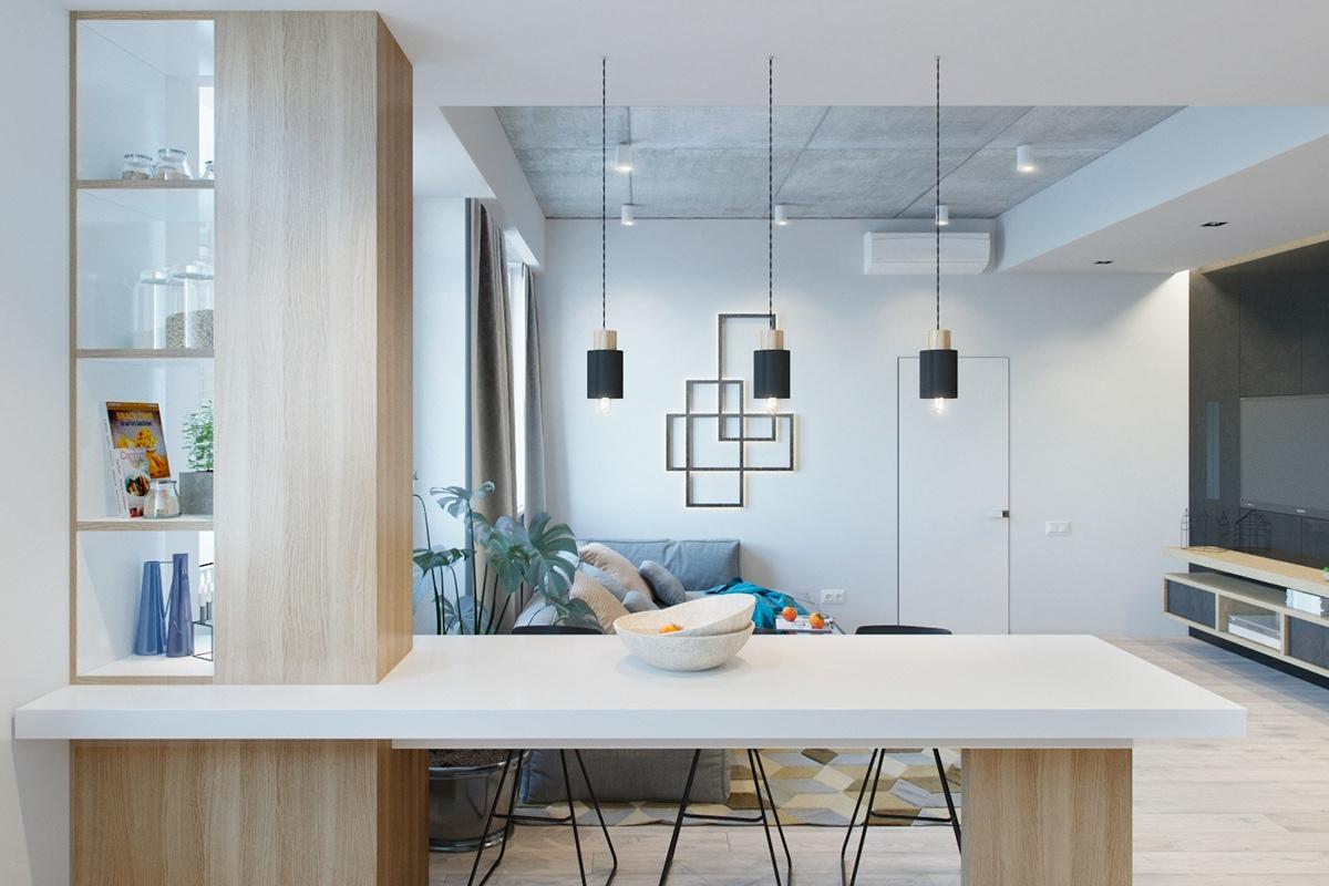 Small Modern Apartment. Fabulous Studio Apartment Kitchens Ideas ...