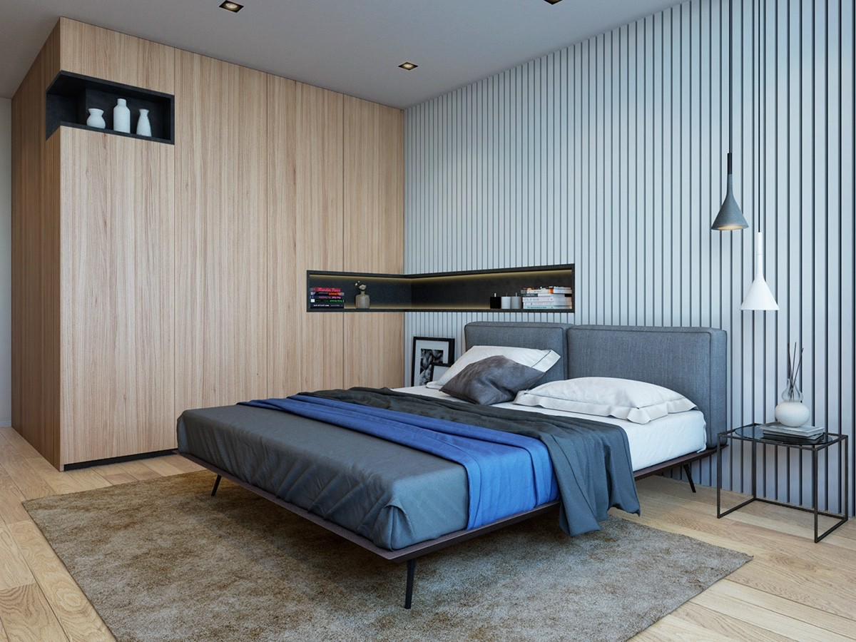 coloring and neutral tone bedroom