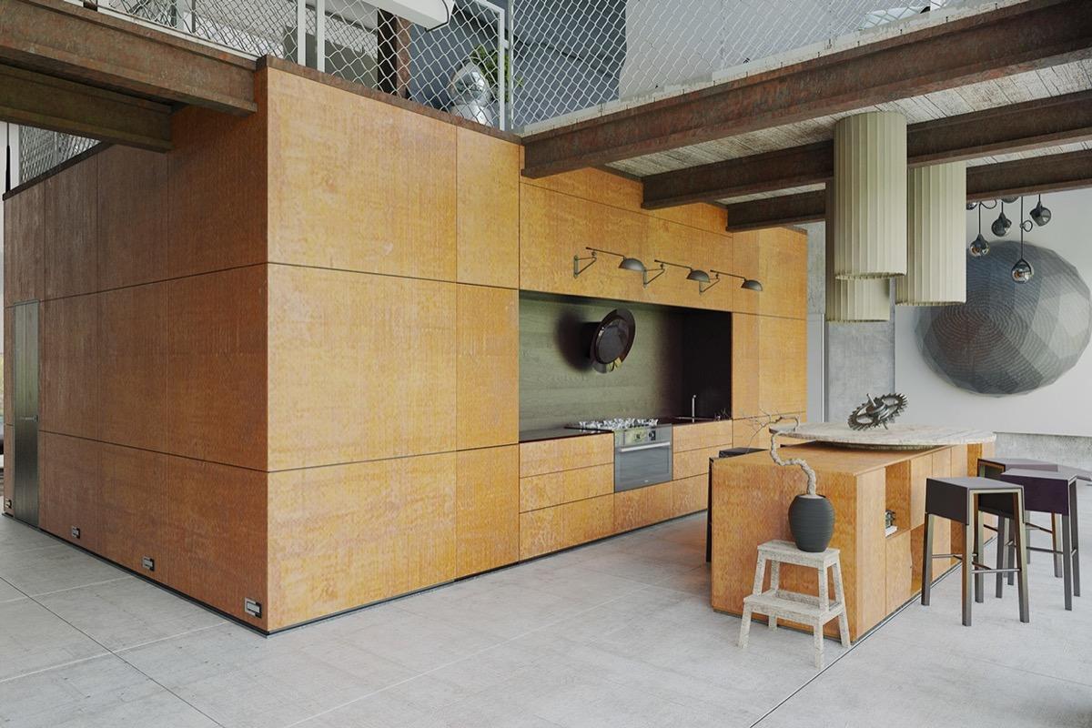 modern wooden design ideas