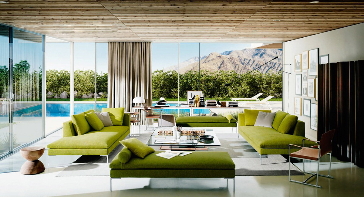 Luxury Living Room Designs Show A Spectacular View Which