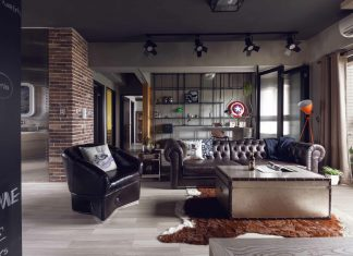 fabulous open plan living room