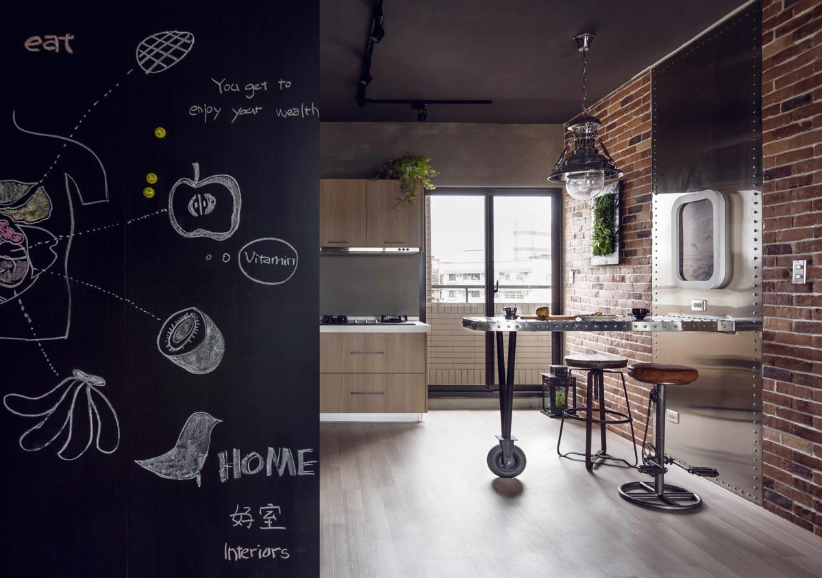 modern wooden kitchen decor