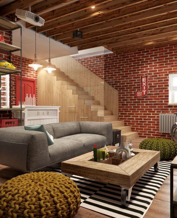 brick modern home design